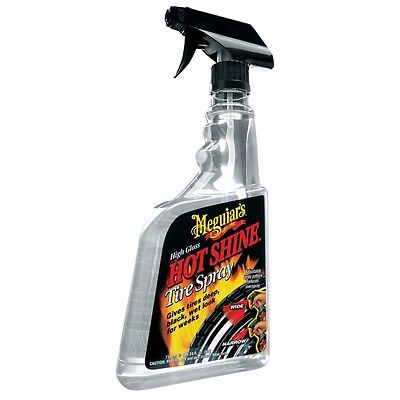73359 Meguiar's - Nero gomme extra lucido - hot shine 710 ml