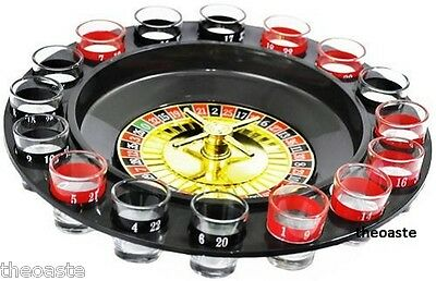 Roulette Party Game Vodka Drink Glass Boys Girls Team Toy Xmas Celebration Home
