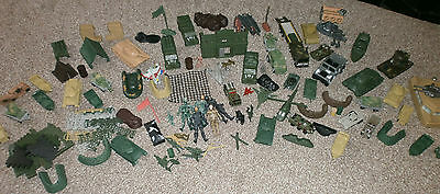 Massive lot of Toy Soldiers, Tanks, Planes, Boats, Helicopters, Figures - Army