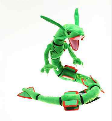 2016 NEW Pokemon Go Rayquaza Plush Soft Teddy Stuffed Dolls Kids Toy 31.5""