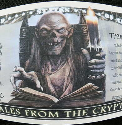 Tales From the Crypt FREE SHIPPING! Million-dollar novelty bill