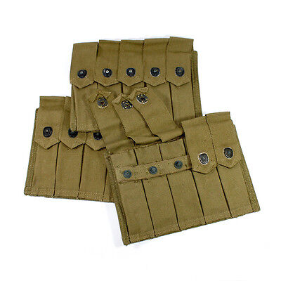 Original US Army Thompson 5 cell 20rd magazine pouch WW2