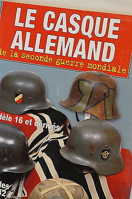 WW2 German Helemets Le Casque Allemand  Reference Book