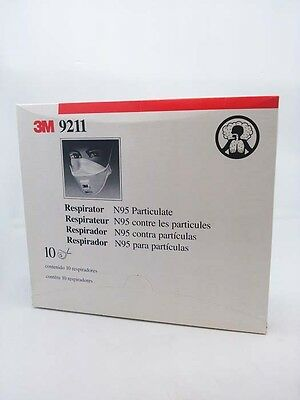3M 9211 N95 Particulate Respirator - Pack of 10