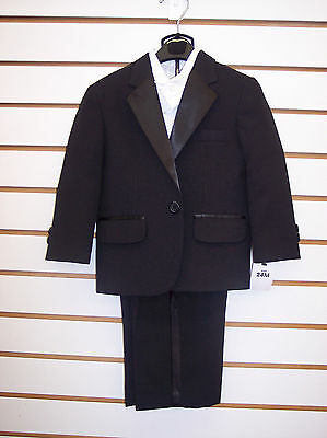 Infant, Toddler, & Boys 3pc Black Tuxedo Size 18 Months - 5