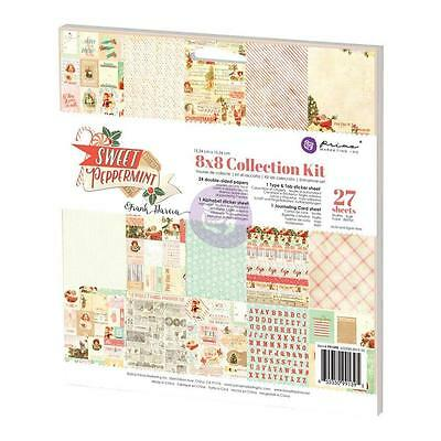 Prima Marketing Sweet Peppermint Collection - 8 x 8 Collection Kit