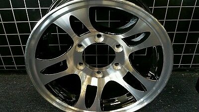 15X6  Aluminum 5 Spit Star Trailer  Rv Wheel 6X5.5 Trailer City Direct Low Price