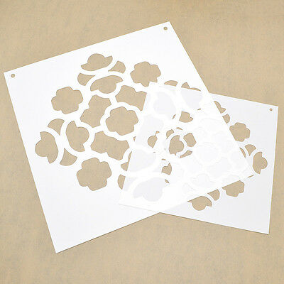 Wall Stencils Template Spray Painted Board for Wall Drawing Painting Decor 1pc