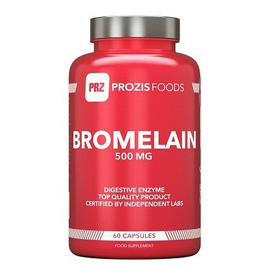 Bromelina 1500 mg 60 capsule  - Prozis Foods - Enzymes
