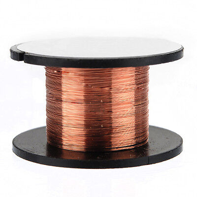 2x(15m 0.1MM Copper Soldering Solder Enamelled Reel Wire Roll Connecting SY