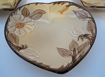 Franciscan Cafe Royal Heart  Shaped Bon Bon Candy Dish or Spoon Rest