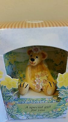 Little Teddy In A Box Bride Gift By Cloth Tag