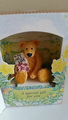 Little Teddy In A Box Gift  To The One I Love  By Cloth Tag