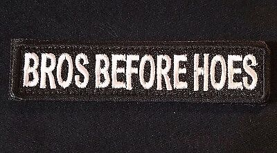 Bros Before Hoes Army Tab Rocker Usa Morale Swat Hook Patch