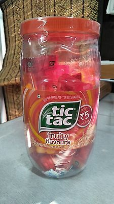 TIC TAC MINT JAR LIMITED EDITION (60 units of 4 flavor 4.3g each) free shipping