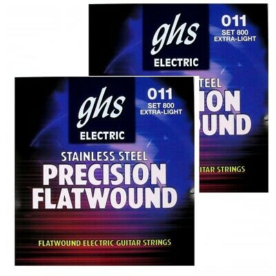 GHS Precision Flats Electric Guitar Strings 11-46