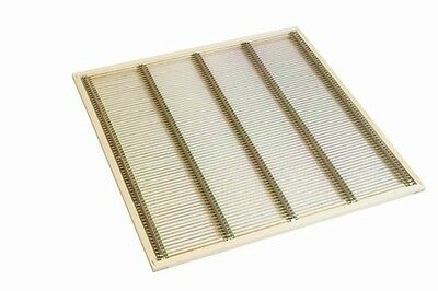Wooden Framed Metal Wire Mesh Queen Excluder, National Beehive, Beekeeping