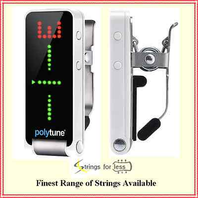 TC Electronic Polytune Clip - Clip-on Polyphonic Guitar Tuner