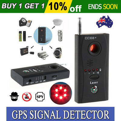 Signal Bug Detector Hidden Camera Video GSM Wireless GPS Device Finder CC308+ AU