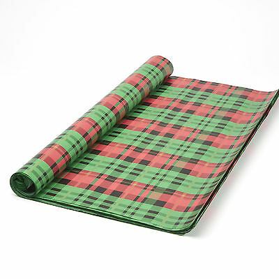 48 Sheet Roll Presently Plaid  Luxury Gift Wrap Christmas Tissue Paper