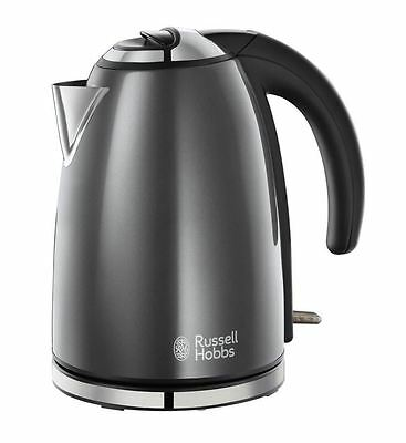 Russell Hobbs 18944 Colours Cordless Jug Kettle in Storm Grey