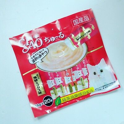 CIAO Churu Cat Lick Snacks Cat 20 Pieces Treat Flavor White Meat Tuna