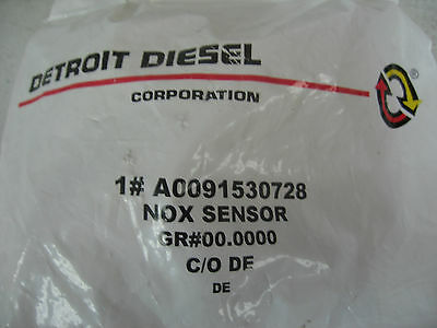 Detroit Diesel Outlet Supply NOX Sensor DEF P/N A0091530728 Ref. # EA0091530728