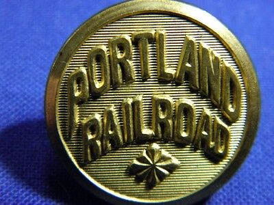 Rare Portland Railroad Waterbury Button
