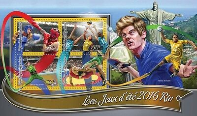Z08 IMPERFORATED TG16312a TOGO 2016 Summer Games Rio 2016 MNH