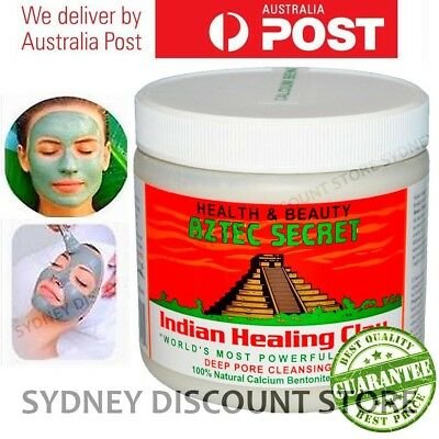 SUPER SALE! Aztec Secret Indian Healing Clay 1lb -SAME DAY or NEXT DAY SHIPPING