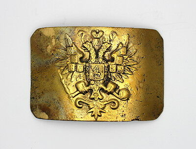 RUSSIAN IMPERIAL buckle of a belt bronze excellent item a collection