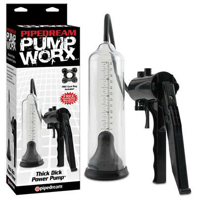 New Pump Worx Thick Dick Power Pump Stamina Erectile Dysfunction Aid