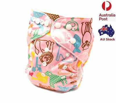 Baby Modern Cloth Nappy Waterproof Outer Layer Adjustable Reusable Nappies (D100