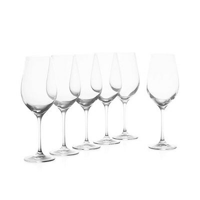 Krosno Vinoteca Set of 6 370ml White Wine Glasses  RRP $59.95
