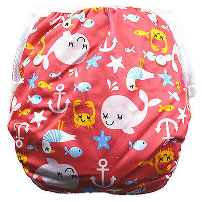 Reusable Swim Nappy Baby Toddlers Girl Girls Diaper Pants Nappies Swimmers (S53)