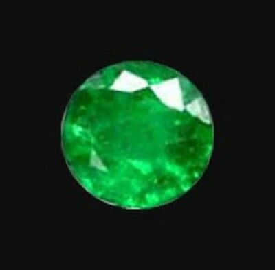 3mm Colombian Emerald Round Diamond Cut Lot N060