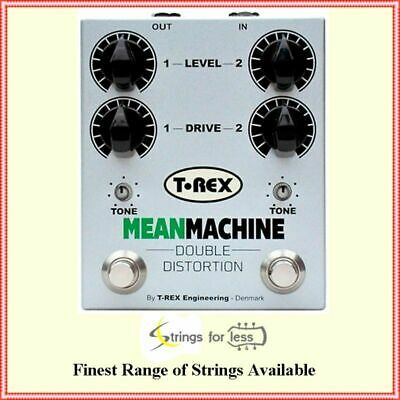 T-Rex mean Machine Double Distortion Guitar Effects Pedal