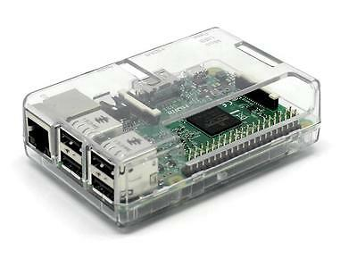 Clear Protective Case Cover Shell Enclosure Box For Raspberry Pi 3 access to all