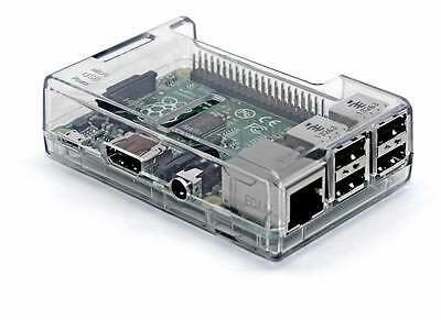 Transparent Case for Raspberry Pi 3 Model B Case - Clear by SB Components