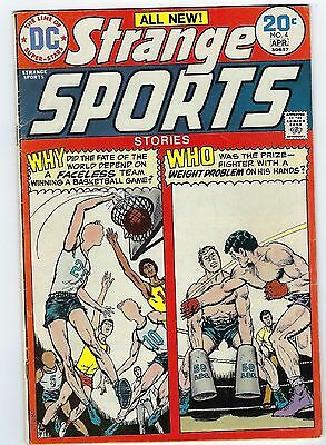 1974 Strange Sports  #4  (DC Comics) Carey Bates Julius Schwartz *VG+