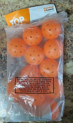 Top Outdoor  Pickelball Orange 12 New Free Shipping G