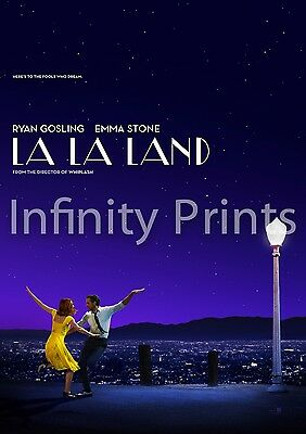 La La Land Movie Film Poster A2 A3 A4