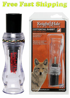 Predator Call Cottontail Rabbit Distress Call by Knight & Hale Coyote Bobcat Fox