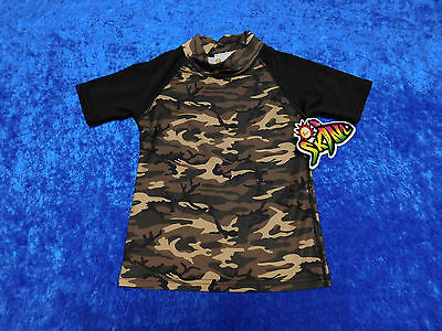 NWT Sunskinz Sun Protection Zone SPF 100 Shirt Size 6 Camouflage