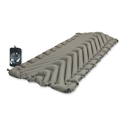 Klymit Static V Luxe Compact Inflatable Sleeping Mat Grey / Black