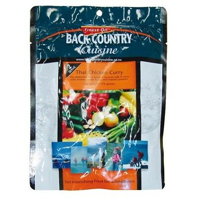 Backcountry Cuisine Dehydrated Food - 2S, Thai Chicken Curry