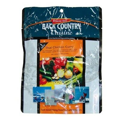 Backcountry Cuisine Dehydrated Food - 1S, Thai Chicken Curry
