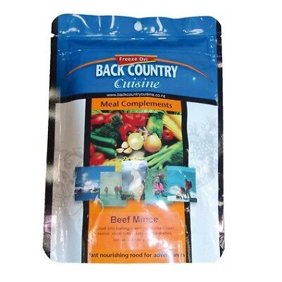 Backcountry Cuisine Dehydrated Food - 5S, Beef Mince