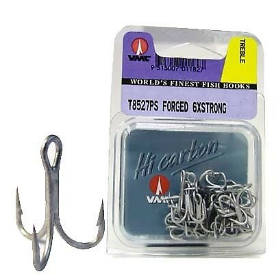VMC Strong Barra Treble  Hook - 2, 25 Pack