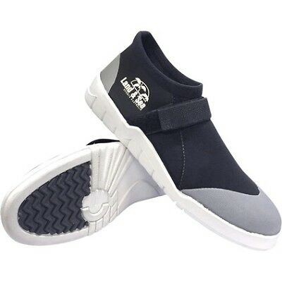 Land & Sea Moulded Sole Neoprene Sneaker - Mens, Black, 6